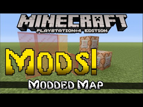 Minecraft PS4 & PS3 - MODS!