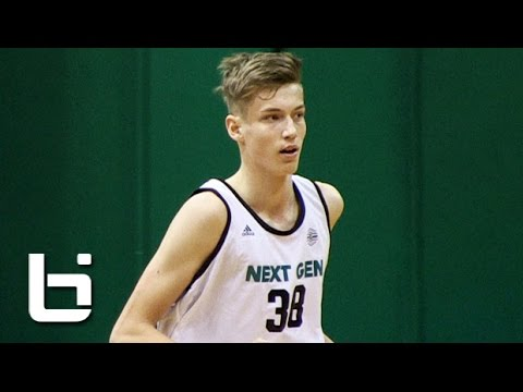 Is 15 Year Old Luka Samanic Europe's Next Basketball Star? adidas EuroCamp Highlights!
