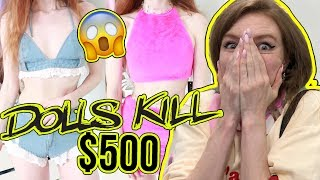 $500 DOLLS KILL HAUL AND TRY ON!!!! SUMMER  2018