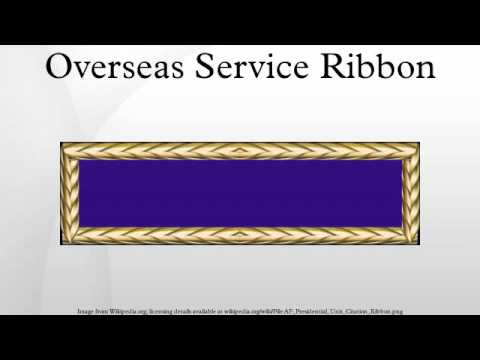 Overseas Service Ribbon