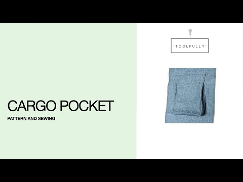 Cargo pocket, pattern & sewing.