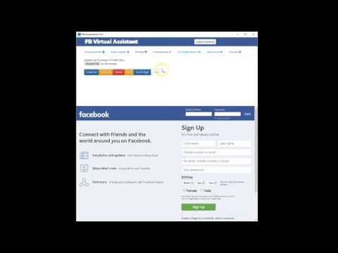 FB Virtual Assistant Version 2.0. Post Bump - Send Messages - Add Friends and More