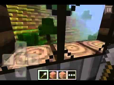Minecraft PE: Building Idea: Suspension House