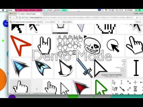 HOW TO CHANGE CURSOR ON YOUR MAC