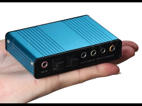 USB 6 Channel 5.1 Surround External Sound Card for PC, Laptop & Note Quick Review