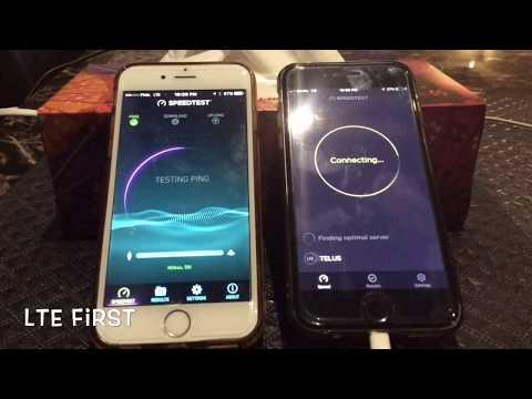 Koodo (Telus) vs Fido (Rogers) Speed Test