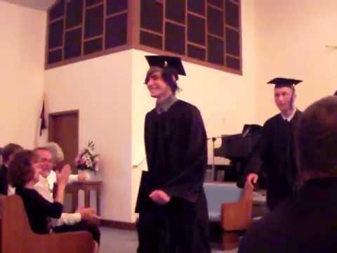 Jensen is a happy graduate
