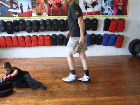Young Alex Grappling Dummy -Kids Class ,Kickfit Martial Arts Academy,Nottingham,UK