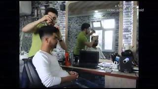 Stilist Resad New Zayn Malik Hairstyle Mens Short Haircut Saç Ukladka Barber Club Hair Design MM RM.