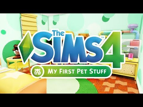 MY FIRST PET STUFF 🐹 // CAS + BUILD & BUY OVERVIEW // THE SIMS 4