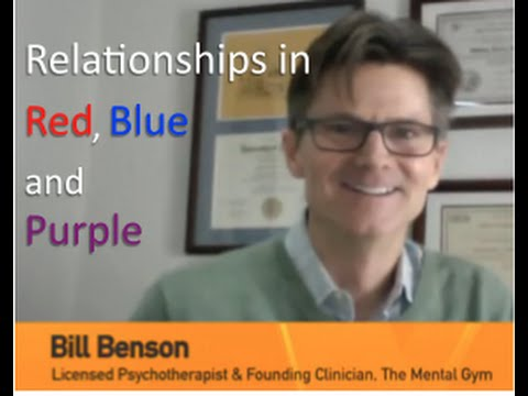 Relationships in Red, Blue & Purple