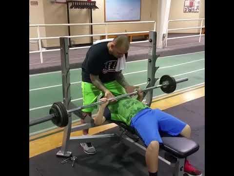 100 pound bench press perfect rep