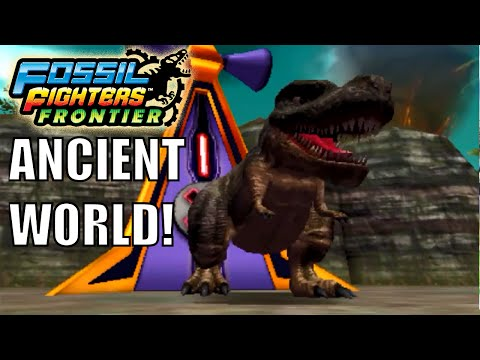 Fossil Fighters: Frontier Nintendo 3DS ANCIENT WORLD! Walkthrough/Gameplay Part 32 English!