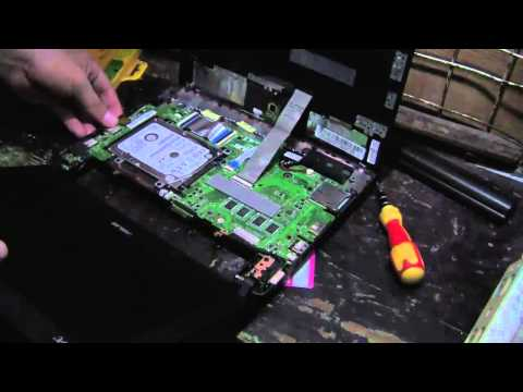 Asus Eee PC X101CH  - Replace   Keyboard or Hard Disk Drive