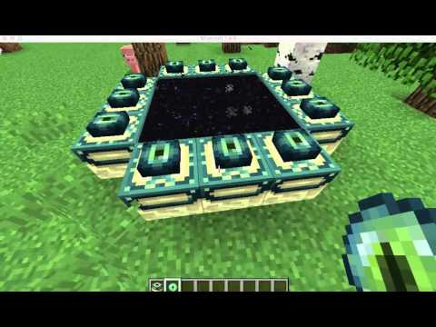 How to make an Ender Portal in Minecraft! [1.8.9]
