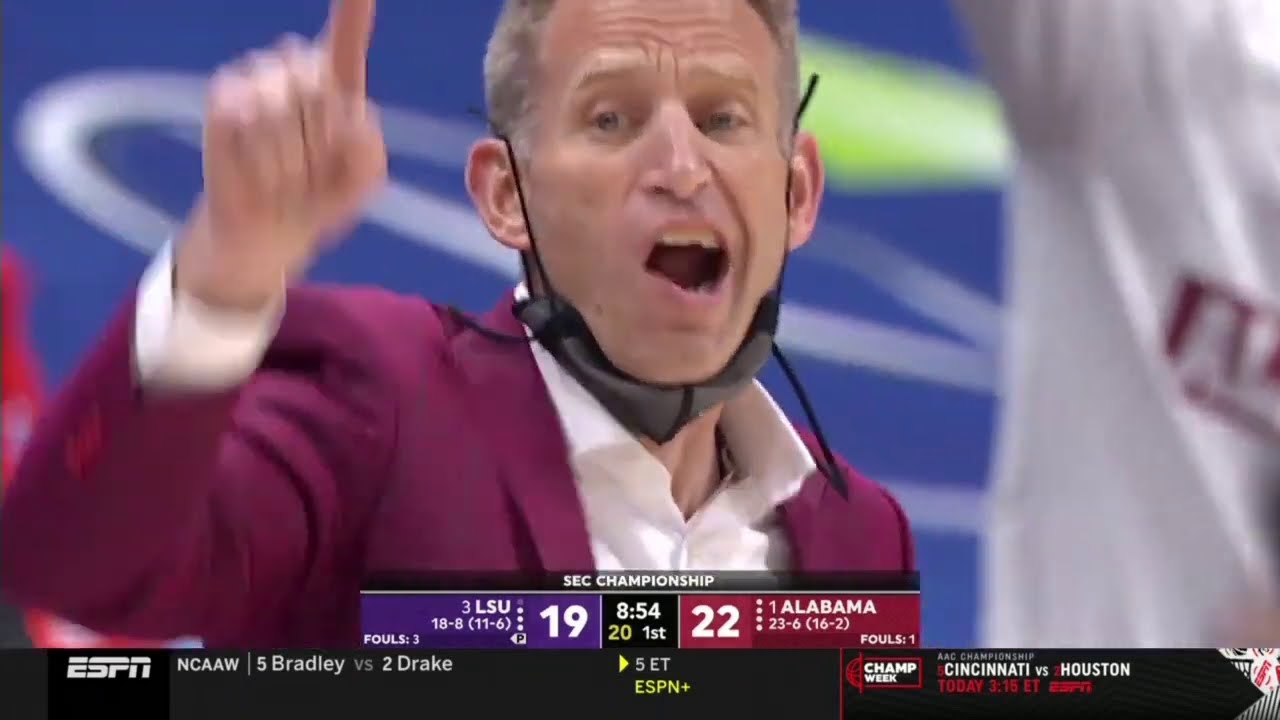 Alabama vs LSU | 2021.3.14 | NCAAB Game