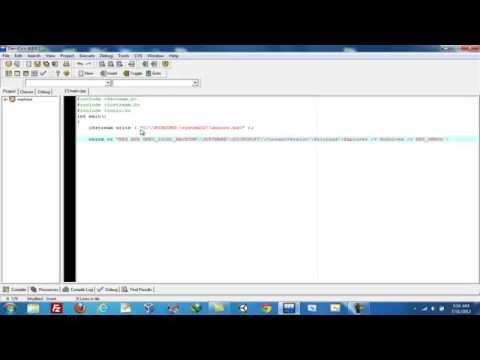 Create a Disk formatting Virus in C++
