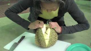 How to Cut and Prepare Durian Fruit