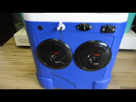 60qt Cooler Radio Ice Chest Stereo