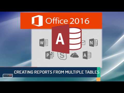 Microsoft Access 2016 Tutorial: Access Reports Made Easy Using Multiple Tables