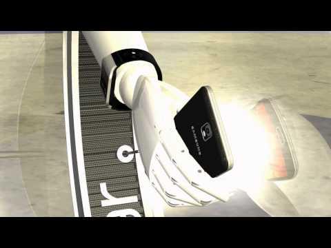 DISPLAY OF SAMSUNG GALAXY GEAR V7000 & SAMSUNG GALAXY NOTE LTE N9005 BY OTTOSTUDIO