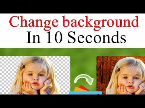 How to change pictures background in 10 seconds Tutorial  ||change background||  ||picsart||