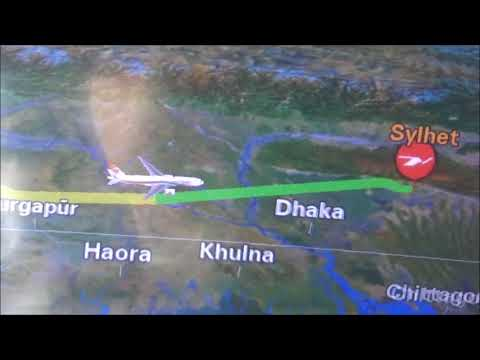 Biman Bangladesh Airline Heathrow T4 to  Osmani Sylhet