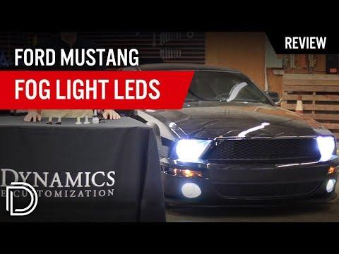 Ford Mustang Fog Light LED Bulbs