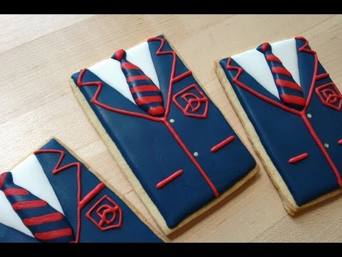 Glee! How To Decorate Warbler Jacket Cookies With Royal Icing