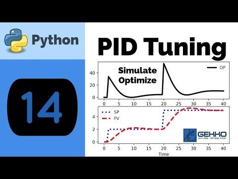 PID Control Tuning with Python GEKKO