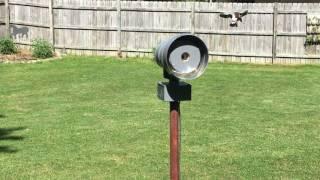 Reverse Wired ACA P-50 Siren Test, Alert, Paddock Lake, WI