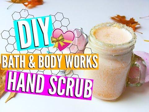 DIY Bath & Body Works Hand Scrub + BONUS VIDEO! //EliseLife
