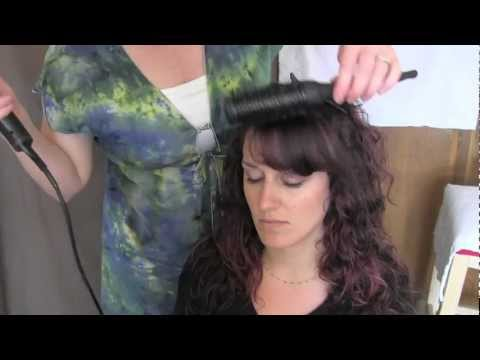 Tutorial: Blow-dry your Bangs Smooth
