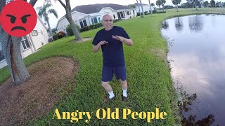 Getting Harassed 2 times while Fishing!!!(Angry Old Citizens)