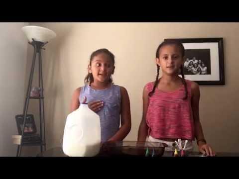 DIY Science Experiments   Lavalamp Cornstarch Putty Colorful Milk