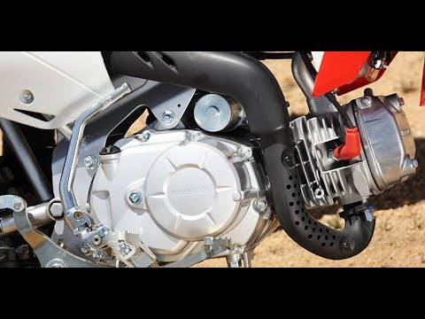 Working on the crf110f bike----Seeing if it will start up....It's over 4 years