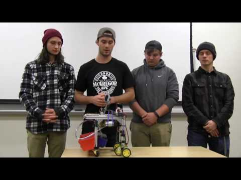 Room Cleaning Robot Mechatronics Project