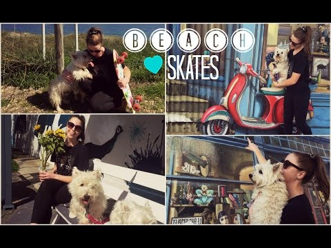 VLOG | Beach Skates and Coffee Dates | TheDogBlog