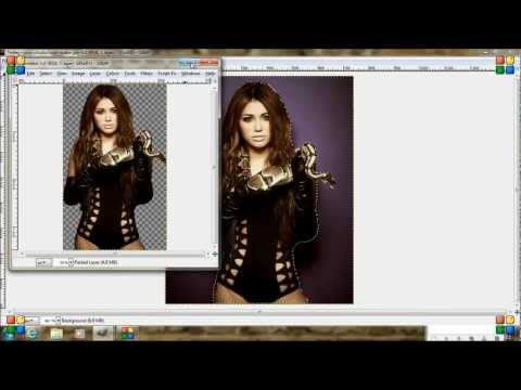 How to delete background in Gimp