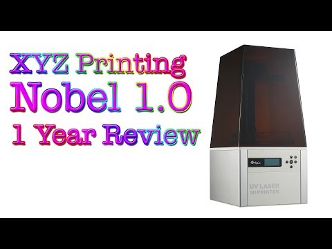 Nobel 1.0 / 3D Printer / 1 Year Review