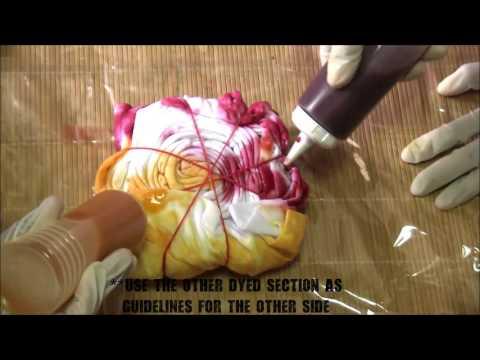 DIY : Tie-Dye Sunburst Style Style