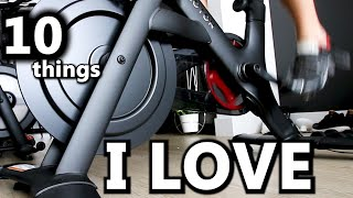 10 things I LOVE about the PELOTON Bike+