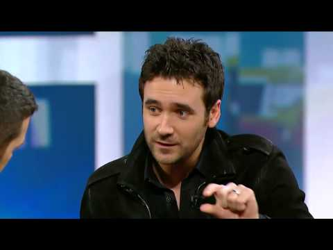 Allan Hawco on George Stroumboulopoulos Tonight: Interview