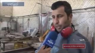 Iran Antique stone factory, Boshruyeh County كارخانه توليد سنگ آنتيك شهرستان بشرويه ايران