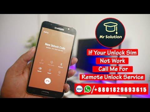 How To Unlock Sim Network Pin Lock | New Sim Unlock Code Free Call