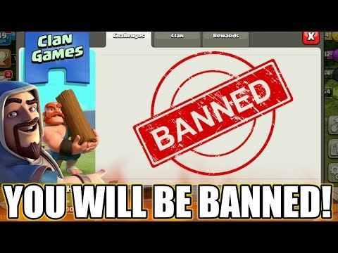 DON'T DO THIS😲YOU WILL BE BANNED IN CLAN GAMES | COC CLAN GAMES NEW T&C | clash of clans