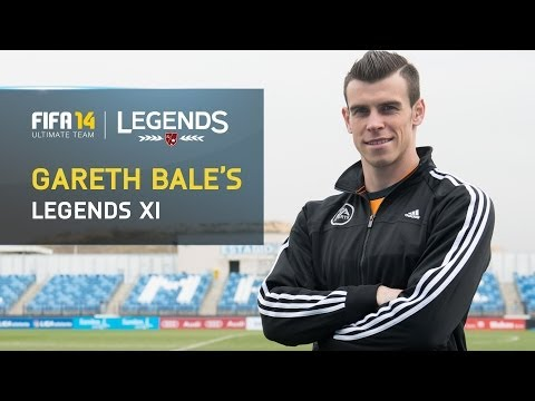 FIFA 14 | Gareth Bale's FIFA Ultimate Team Legends XI