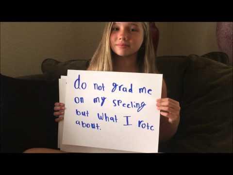 Sophia's Dyslexia fight song