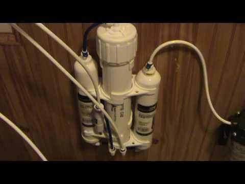 Zero Waste Reverse Osmosis for Rain Water Drinking