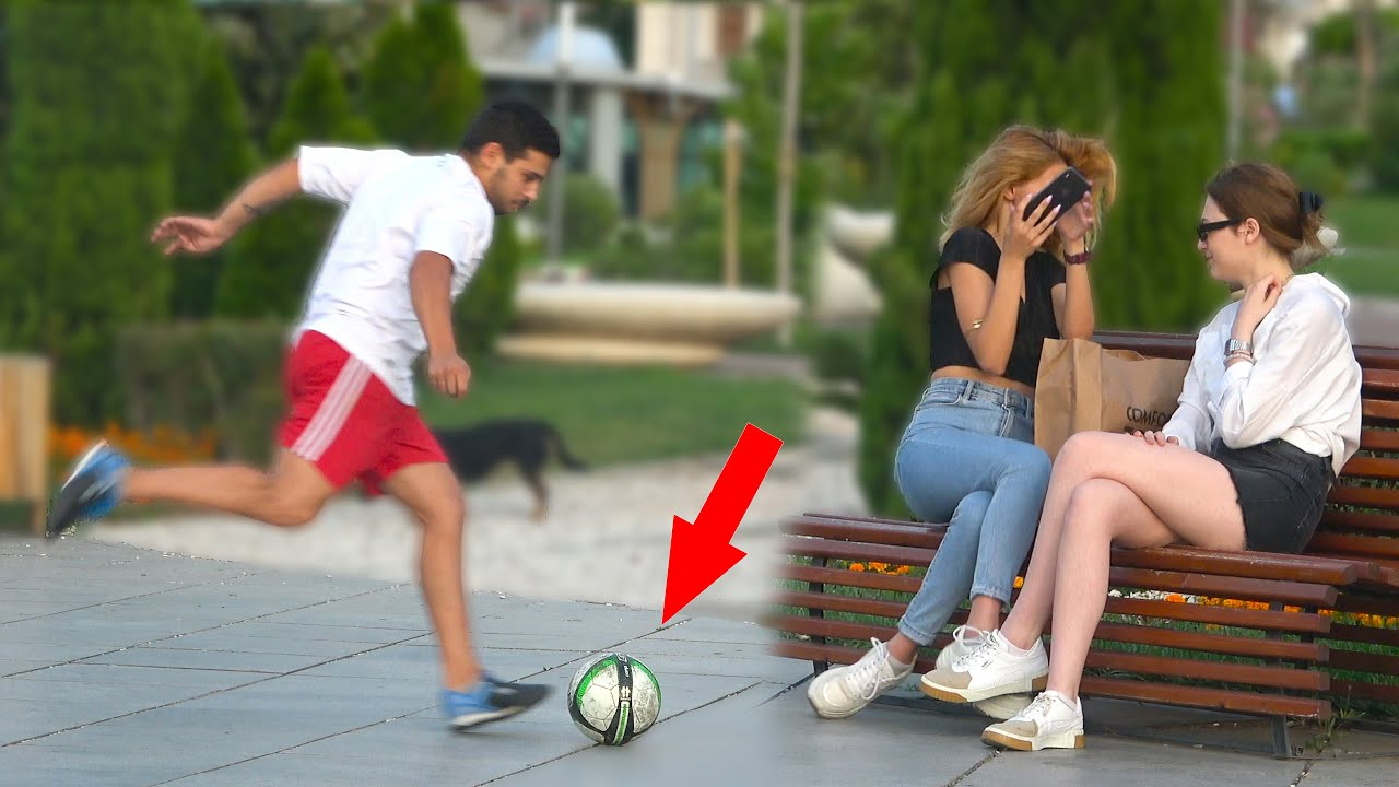 BEST OF FOOTBALL PRANK  -  | AWESOME REACTIONS